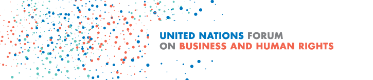 UN Forum on Business and Human Rights - AI and Emerging Technologies topic.