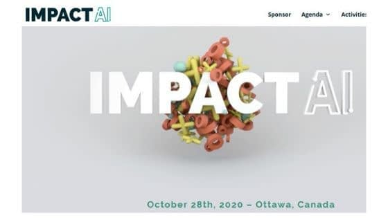 Impact AI Canada - Responsible AI Conference.