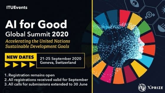 AI for Good Global Summit 2020 new dates