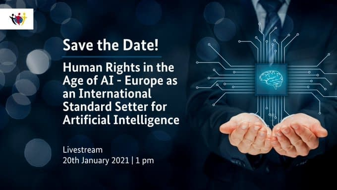 High-level AI Conference Human Rights in the Age of Artificial Intelligence
