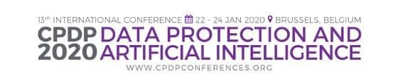 CPDP 2020 Data Protection and Artificial Intelligence Conference