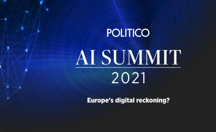 Politico AI Summit 2021 - Europe