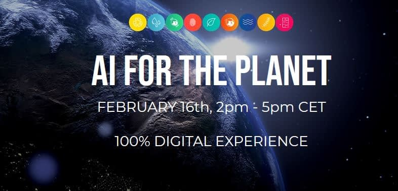 AI for the Planet launch event