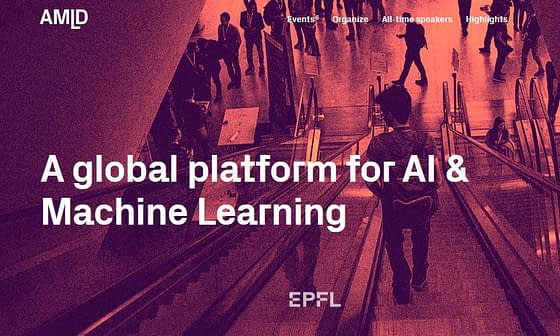 Applied Machine Learning Days in Europe