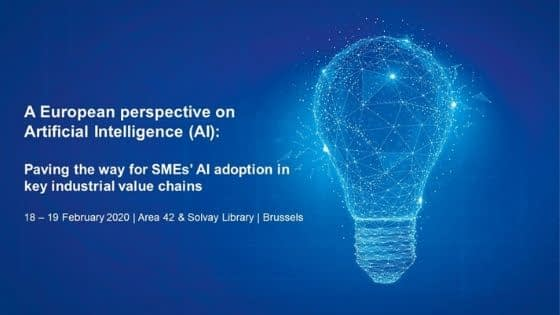European Perspective on Artificial Intelligence - SME adoption of AI Conference
